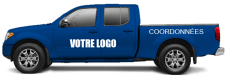 Lettrage complet camion - Full wrap camion