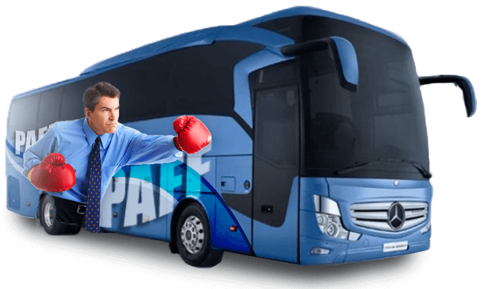 Lettrage autobus - Habillage bus